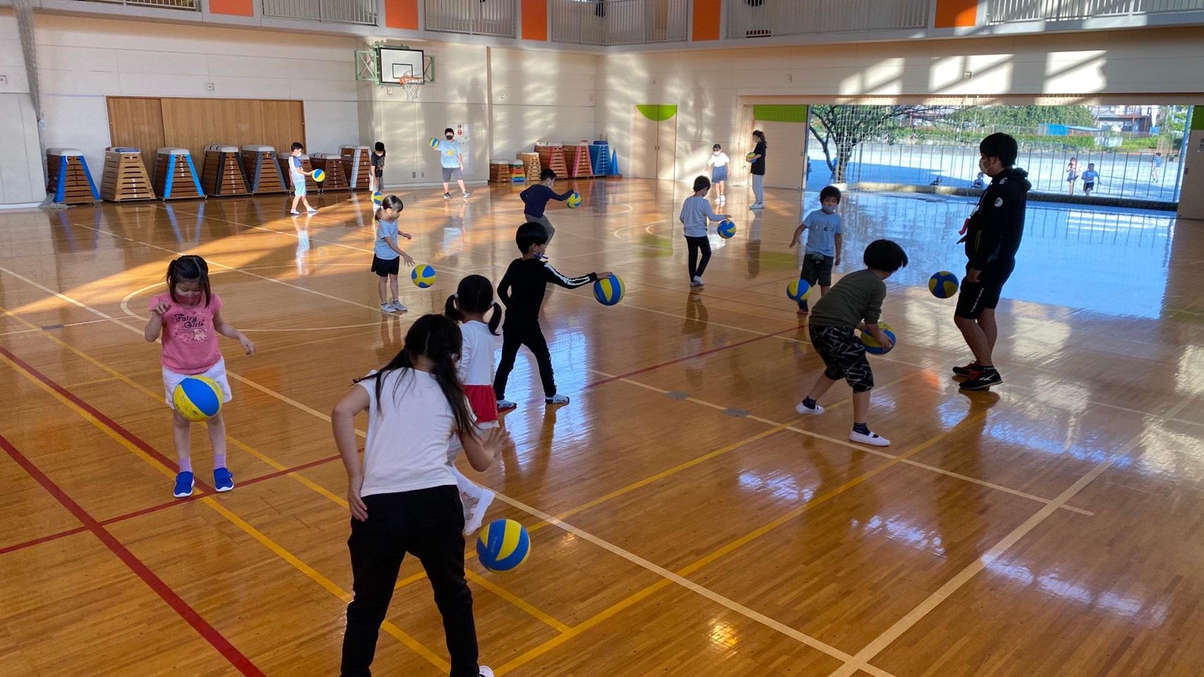 ボールを使った運動教室
